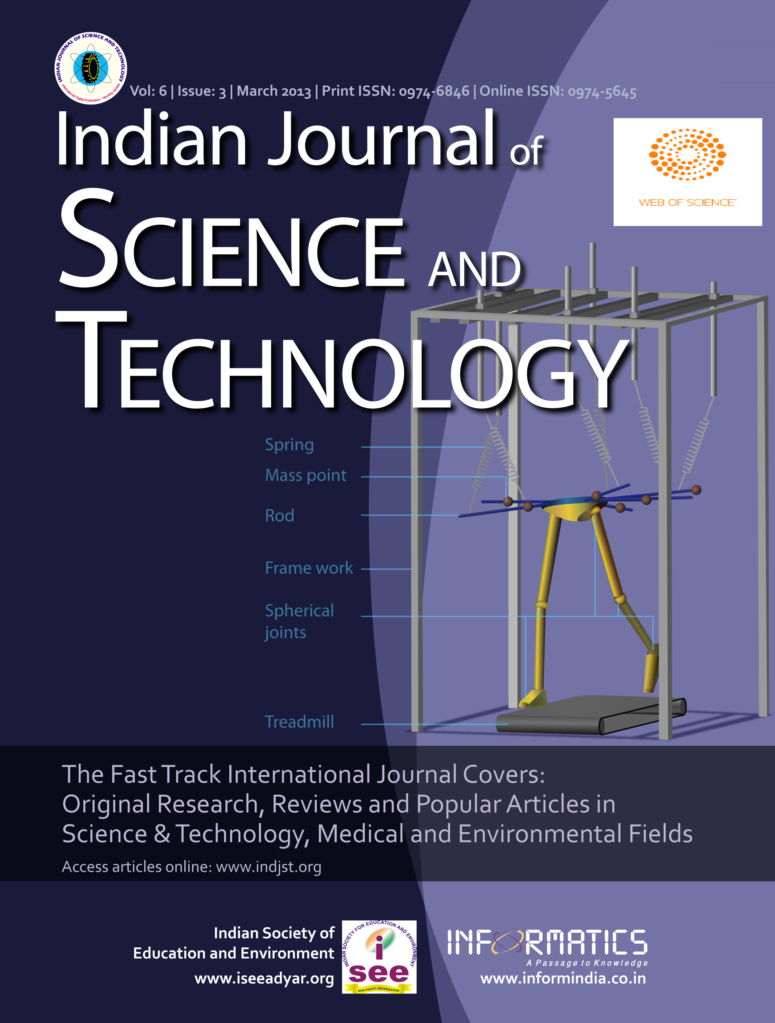 Indian Journal of Science  & Technology